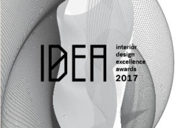 IDEA AWARDS   - Interior Design Awards Shortlist  National- Shortlist/Finalist  November 2017