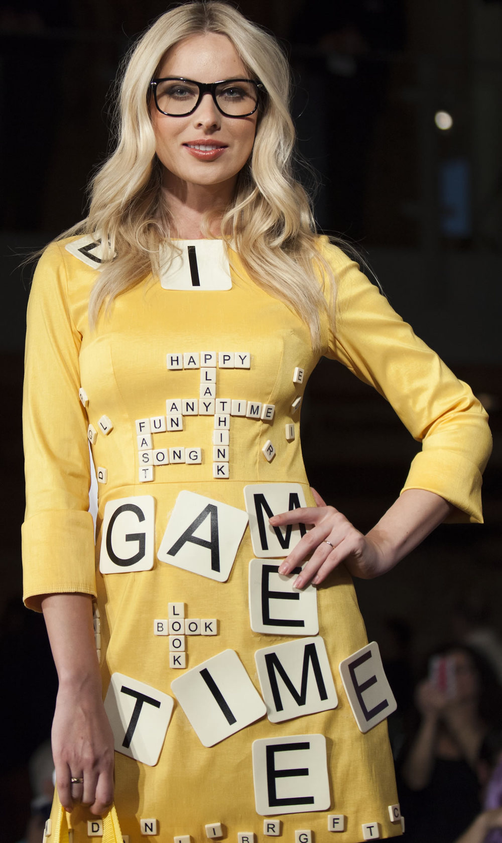 Bananagrams look by Gibeon Tolbert - PlayCHIC 2013