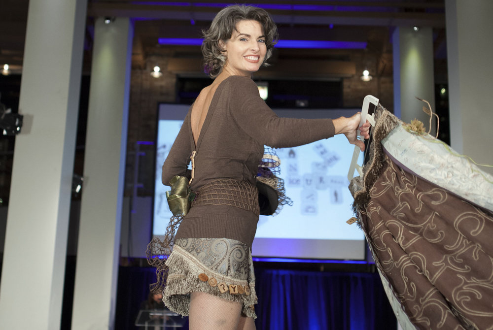 International cover model Joan Severance and her txTylz look - PlayCHIC 2013