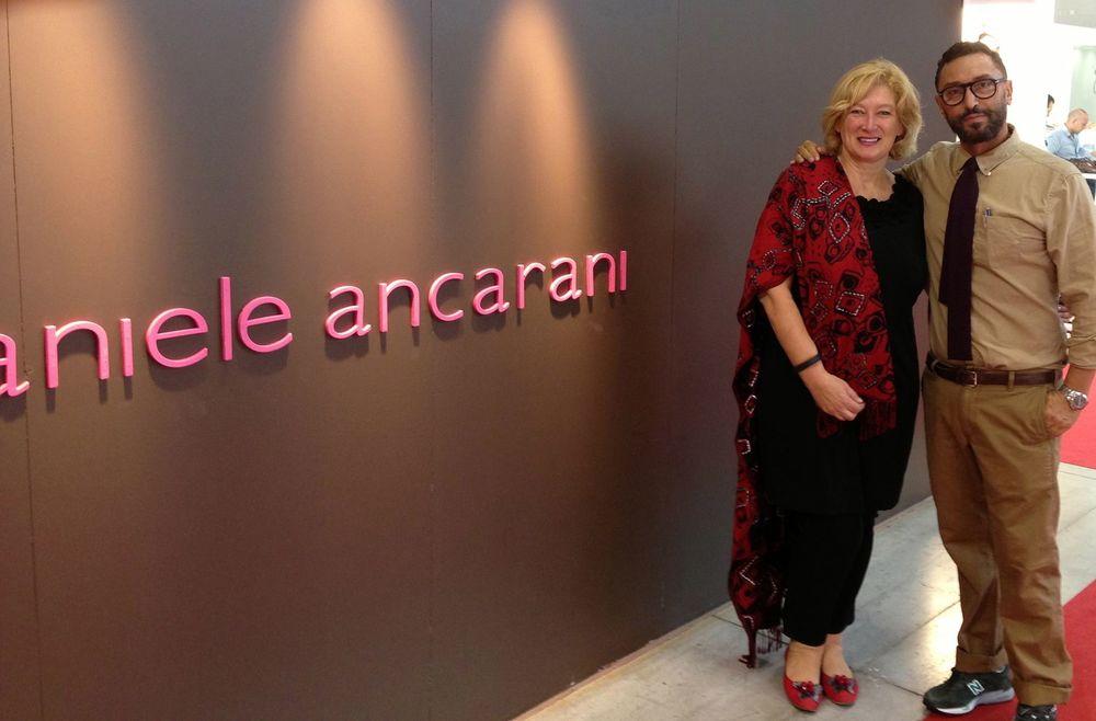 Lucia Lucka Klansek and Daniele Ancarani, MICAM, Milano September 2013