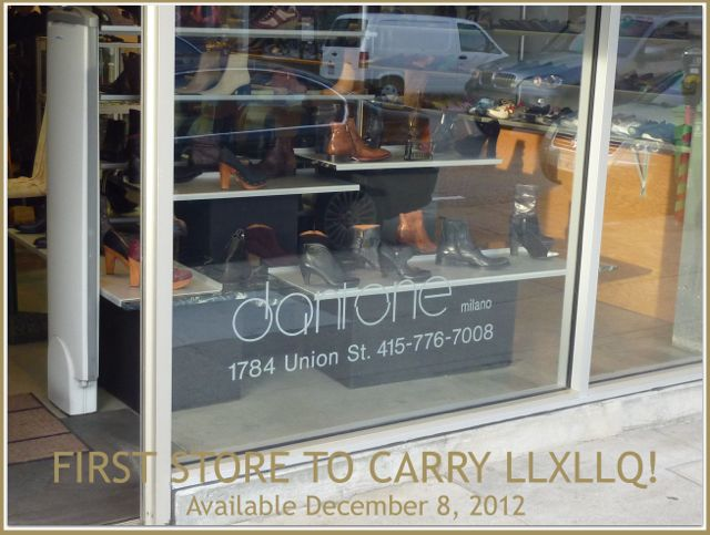 Dantone Milano First Store To Carry LLXLLQ Shoes
