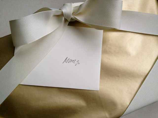 Wrapped LLXLLQ package for mothers day