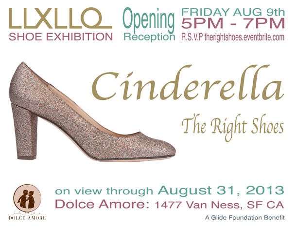 LLXLLQ Shoe Exhibition: Cinderella The Right Shoes