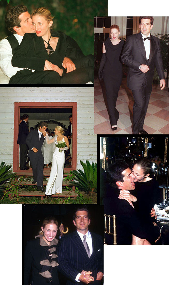 John KennedyJr and Carolyn Bessette Wedding