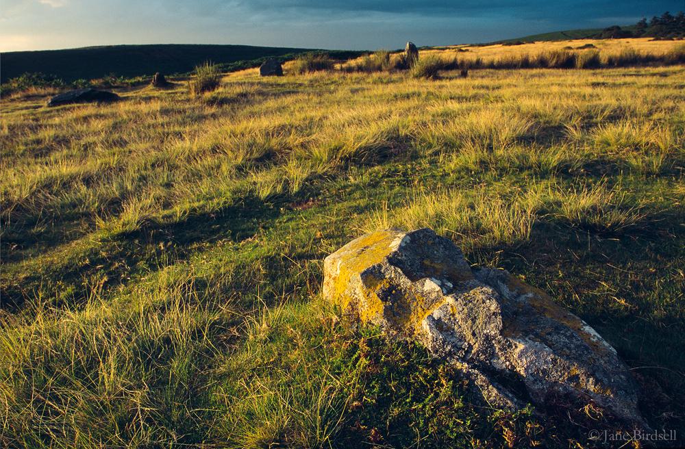 Mitchell's Fold stone circle, Stapeley Hill