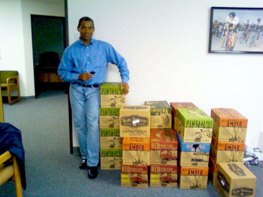 Karl Strauss Beer delivery, 2012