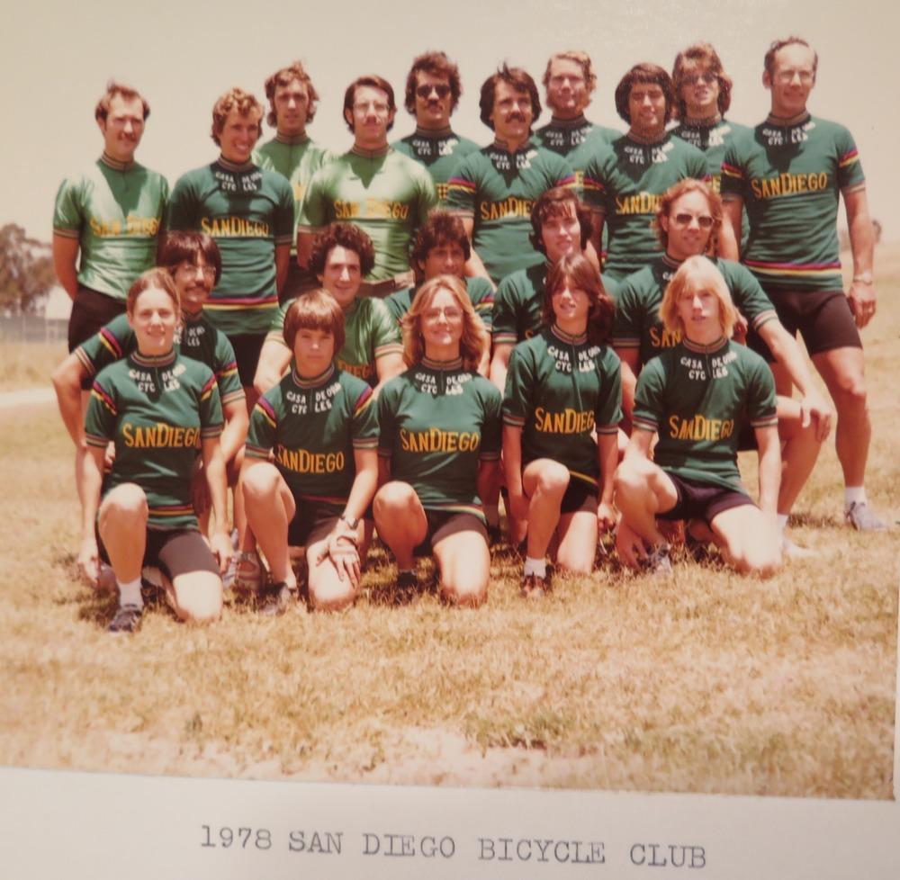 1978 SDBC Club Photo