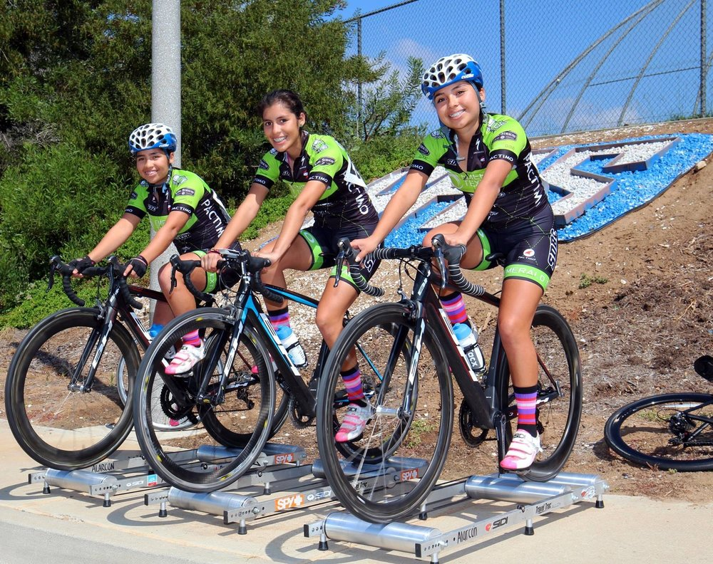 August Riders of the Month - Alarcon Sisters