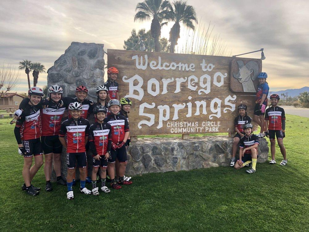 2019 Borrego Springs Training Camp