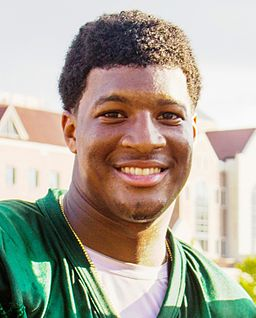 Famous Jameis has a reason to smile as he returns to Florida State after winning the Heisman. The Seminoles will start their title defense starting August 30th.    © David July