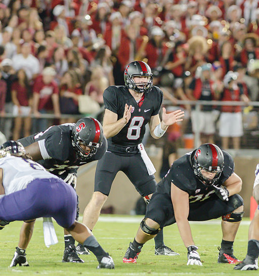 Kevin Hogan will have to take the reigns of the Cardinal for the 2014 season. The senior will have to run the show without Tyler Gaffney. © Cynthia Yock