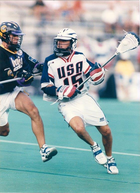 Dave Curry #15 - 1998 World Championships - Team USA - NCHS Captain 1993