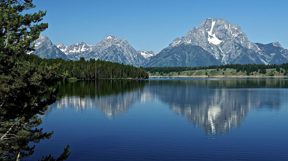 Jenny Lake, Grand Tetons, Wyoming.