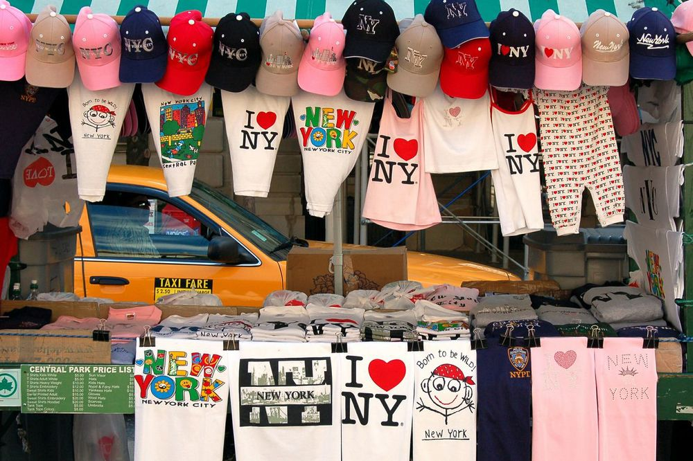 Street Vendor, NYC.