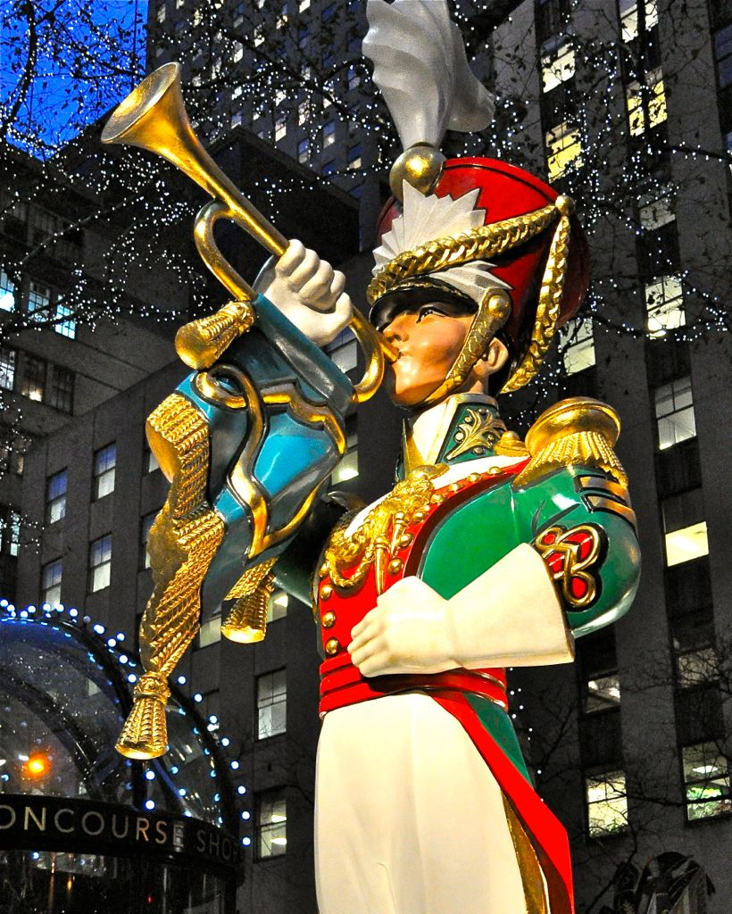Rockefeller Center @ Christmas, NYC.