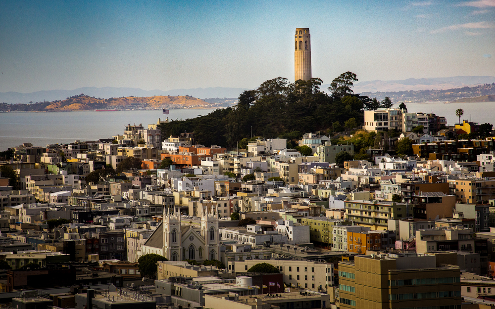 Coit Tower--San Francisco