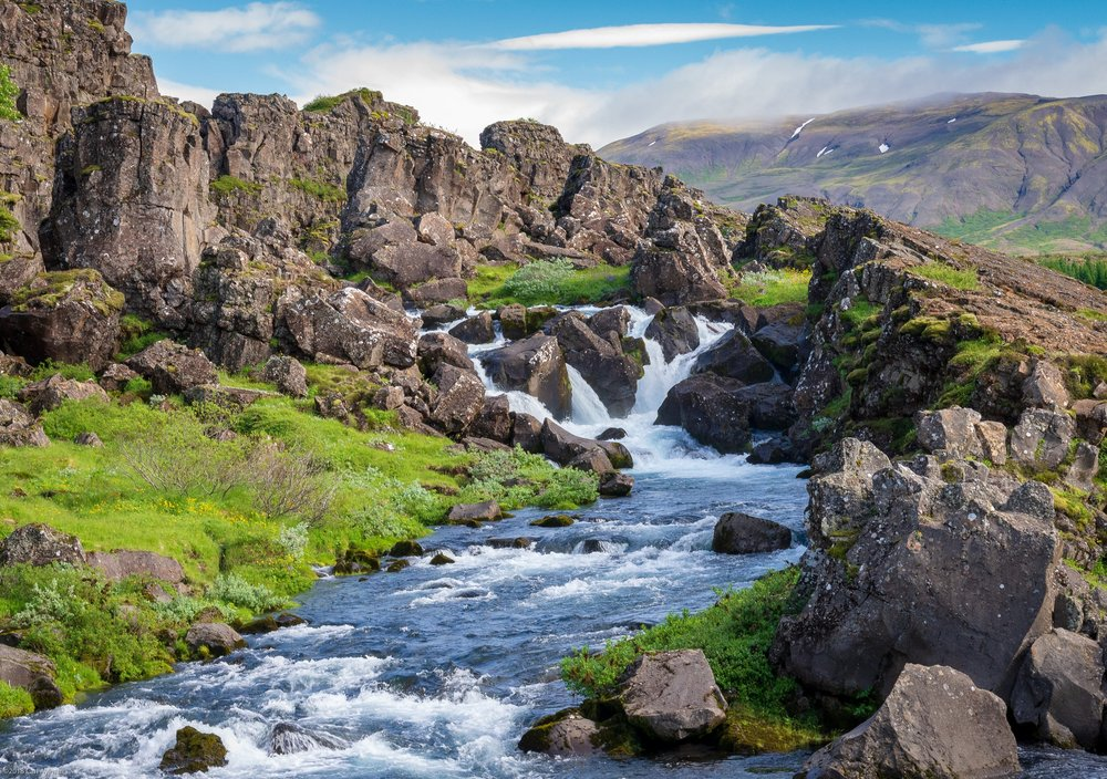 Pingvellir National Park, Iceland.