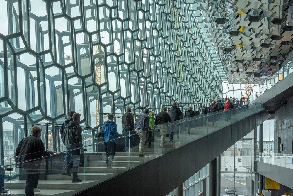 Harpa Concert Hall, Reykjavik Iceland