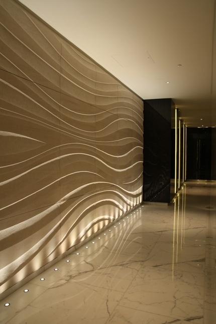floor led lighting. this corridor shows how spaces can be illuminated by thinking outside the box recessed floor led lighting o