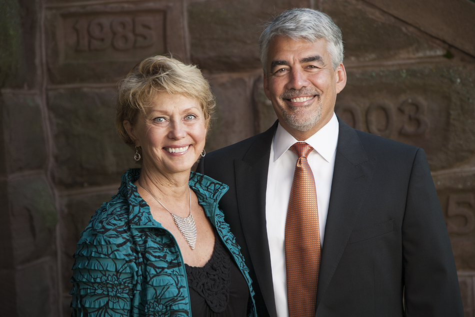 President Michael A. Miller and Mary Trettin, PhD