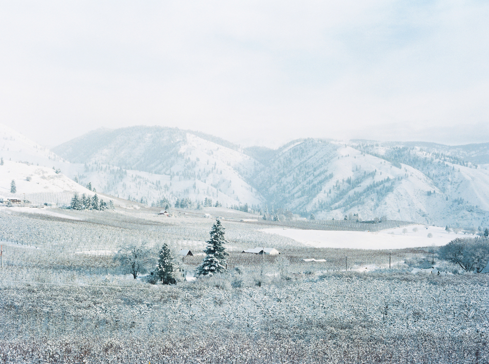 Winter in Cashmere, Washington by Leilanika Abalos