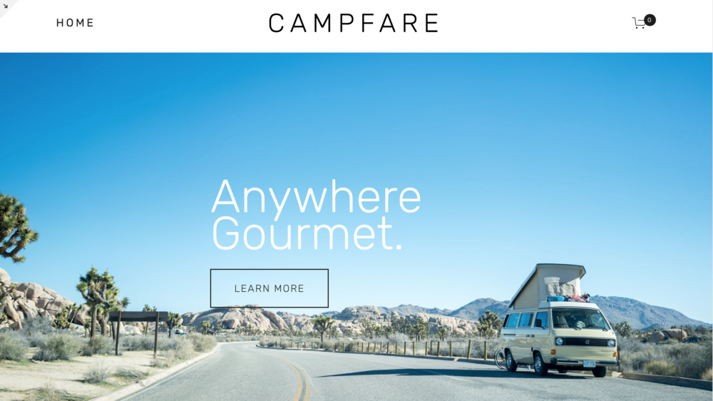 CampFare Demo HomePage.png