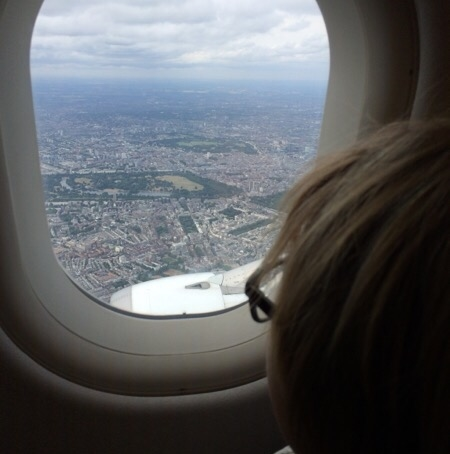 Arriving into London