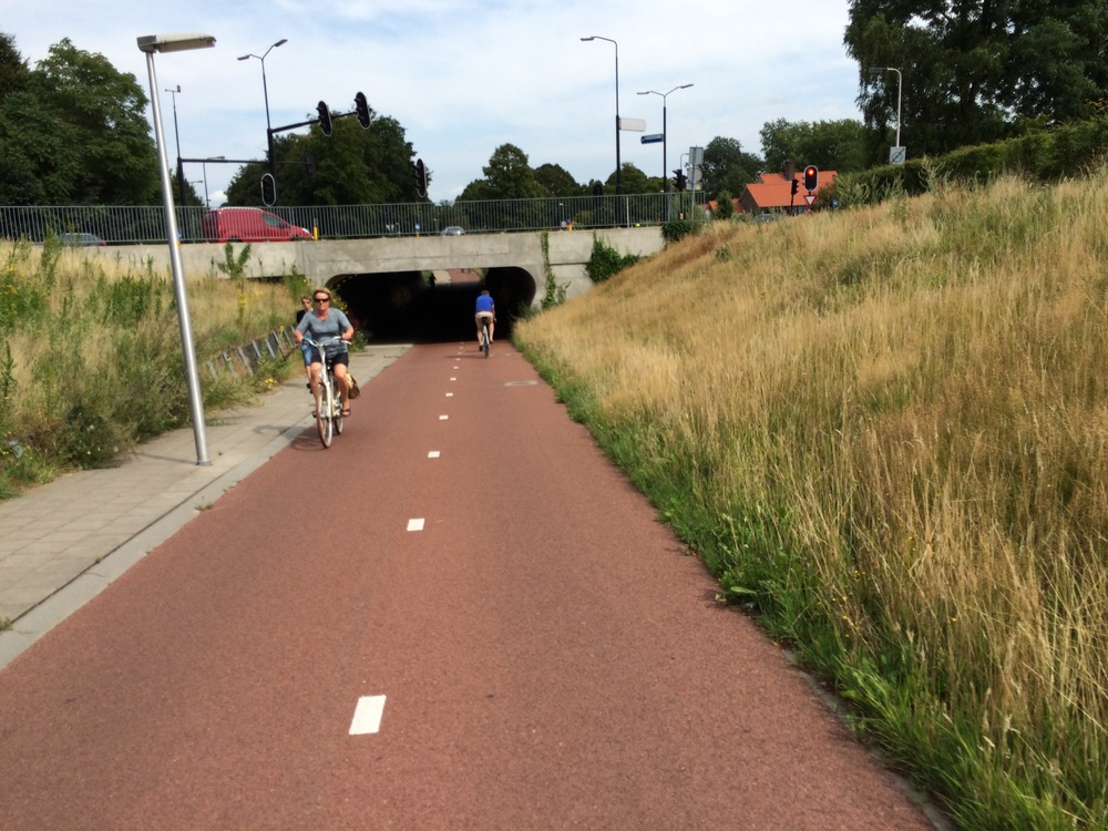 Bike underpass, Deventer, Netherlands