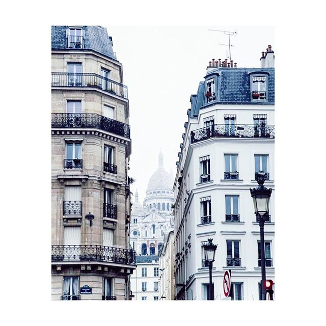 Pigalle neighborhood and Sacré Coeur #pigalle #paris #buvette #buvetteparis regram @marte_marie_forsberg
