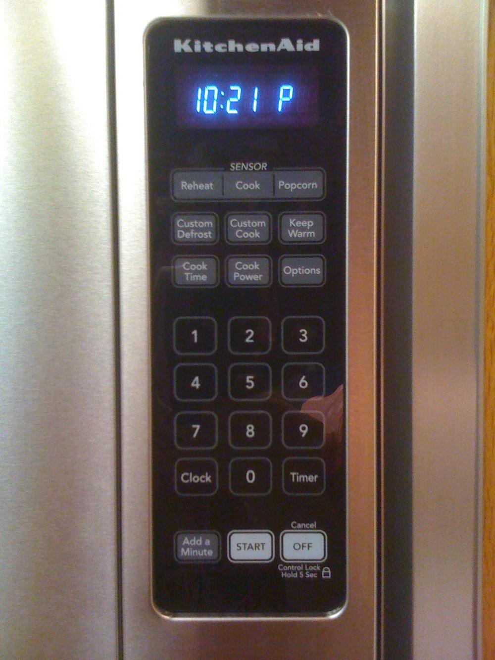 microwave usability