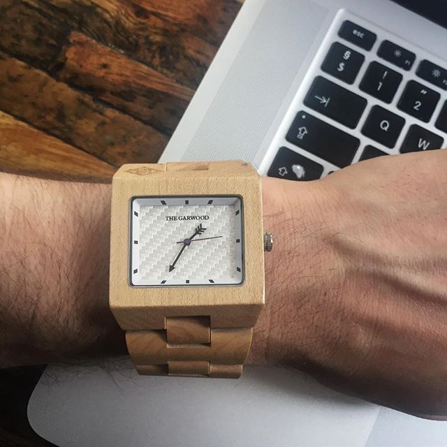 Time to get back to work #thegarwoodwatch #showusyourgarwood #woodwatch #thegarwoodangeleno #woodwatch