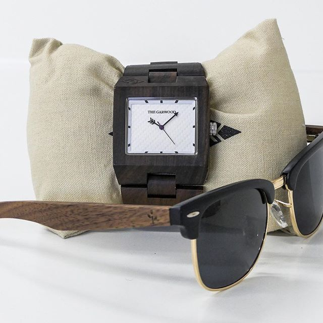 Complete your look with wooden sunglasses from our friends at @wearwood #woodlife #wearwood #thegarwoodwatch #sunglasses #woodwatch