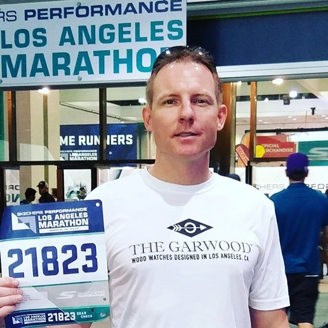 "Shout out to our friend ""Mic"" McClaren @tonethemic as he runs the #LaMarathon today. Follow and support him on his two year campaign to Climb the Seven Summits of the World to draw awareness and support to Parkinson's Disease #climbaboveparkinson #7Summits2018 www.gofundme.com/climbaboveparkinsons"