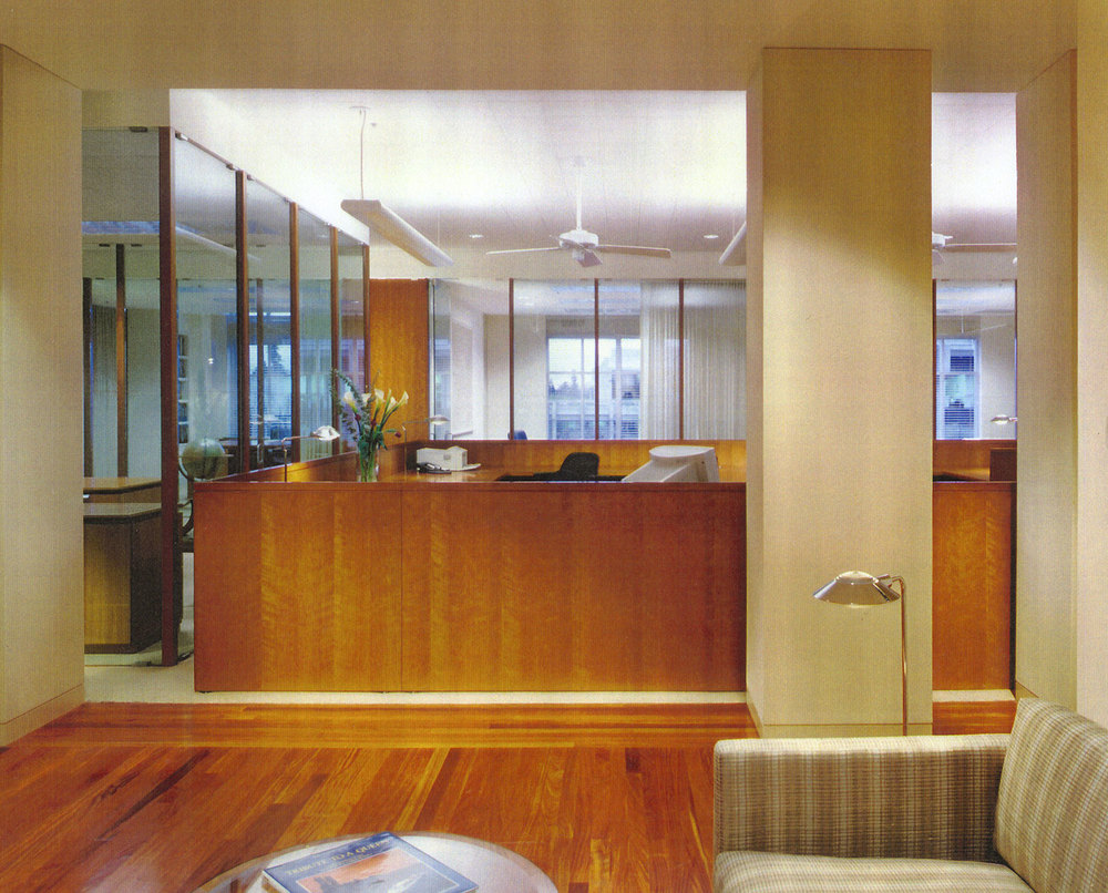 HAL INVESTMENTS – Palo Alto, California  work completed for former employer     Architect: Brayton & Hughes Design Studio  Project Designer: Timothy Gemmill   Project Type: Private Offices