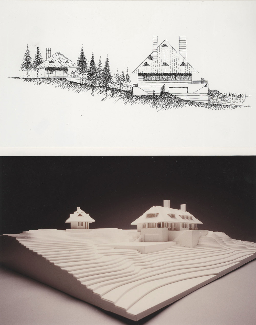 ARCHITECTURAL INTERNSHIP 2004 - 2007  Frank Welch & Associates – Dallas, Texas     Colorado Mountain House   Project Team Member