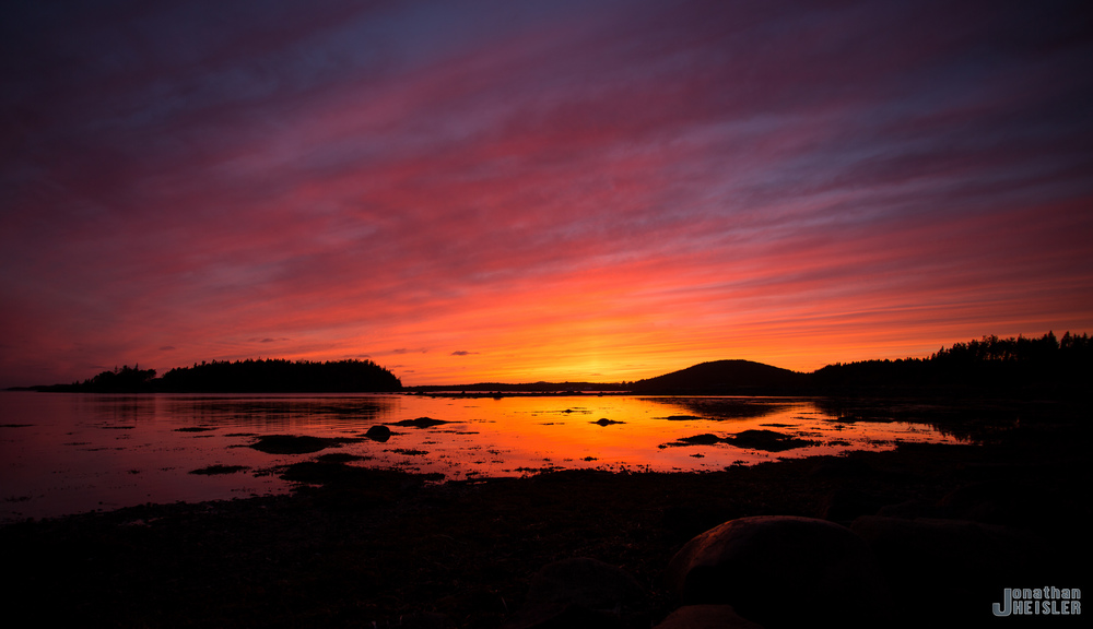 Photographed on August 29, 2013 while leaving Twillingate, Newfoundland