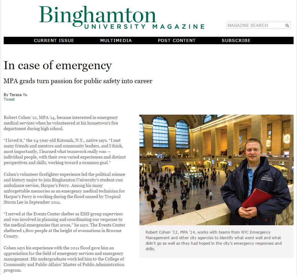 Binghamton University MPA _ Jonathan Heisler _ Grand Central Station _ New York City