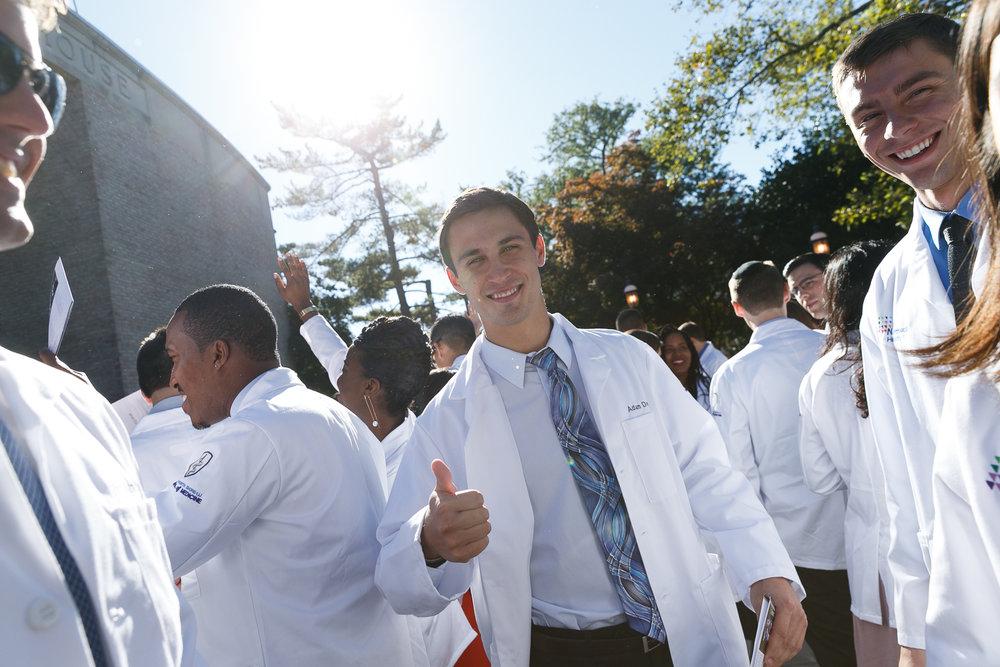 Hofstra University Medical School _ White Coat Ceremony.5 8.jpg