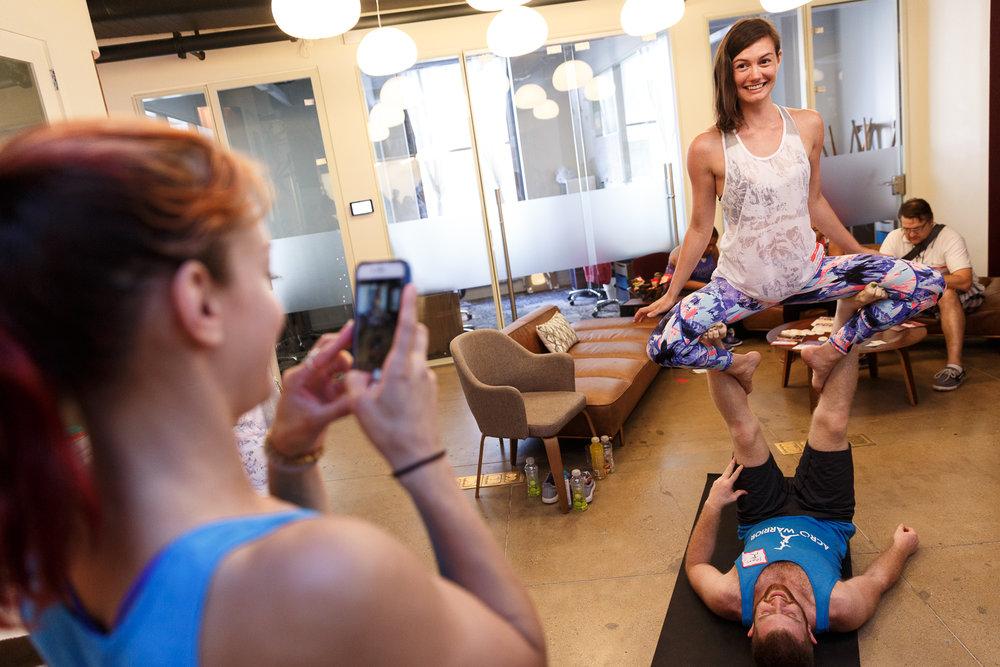 Pop Up Yoga NYC