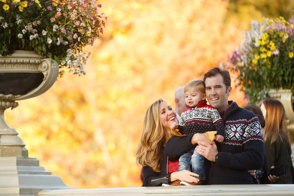 Central Park Family Photo Session