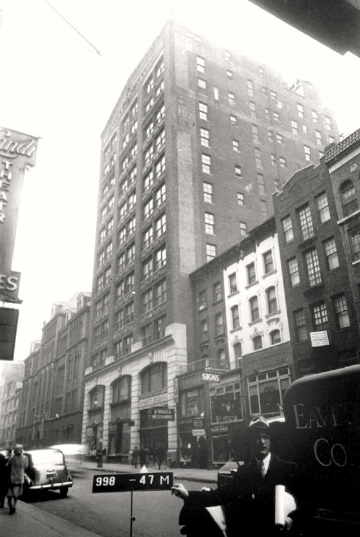 K&E factory; 126 West 46th Street (1940-1990)