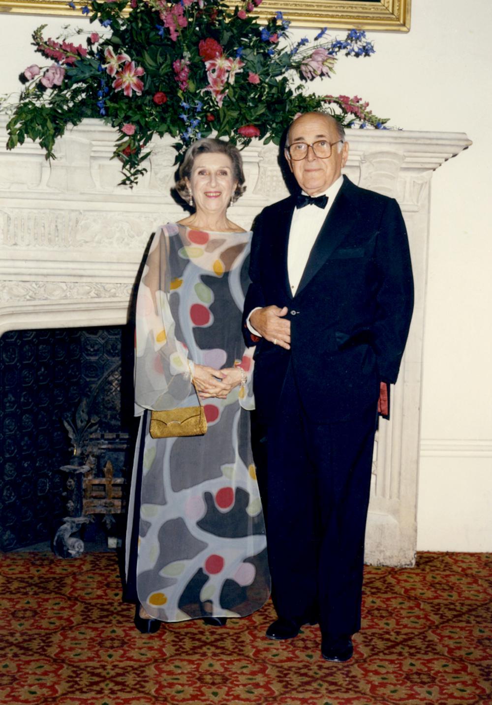 Stanley & Esther Sternberg, 1991