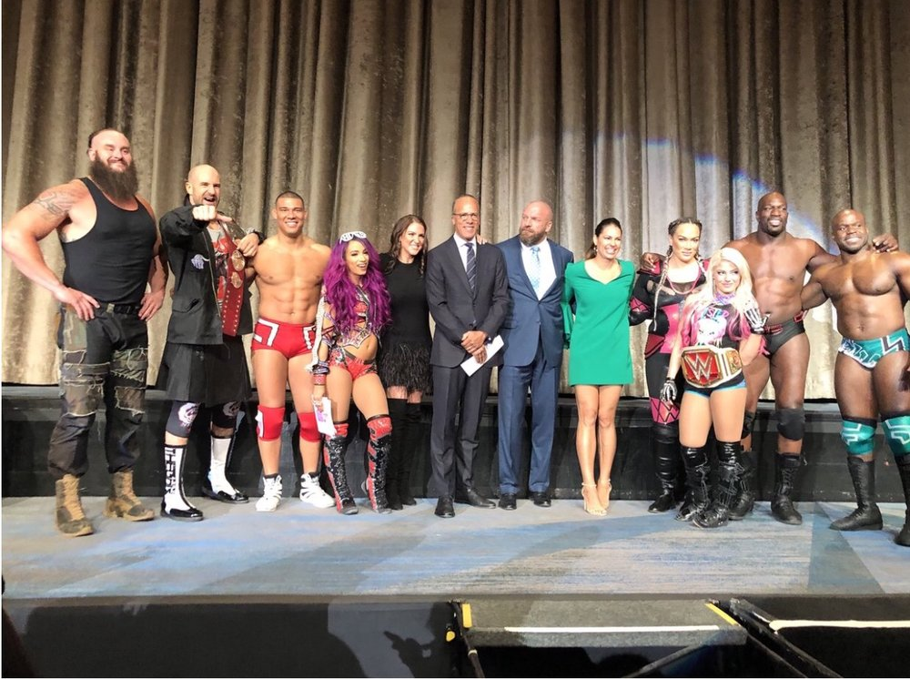 """WWE """"March of Dimes"""" Event"""