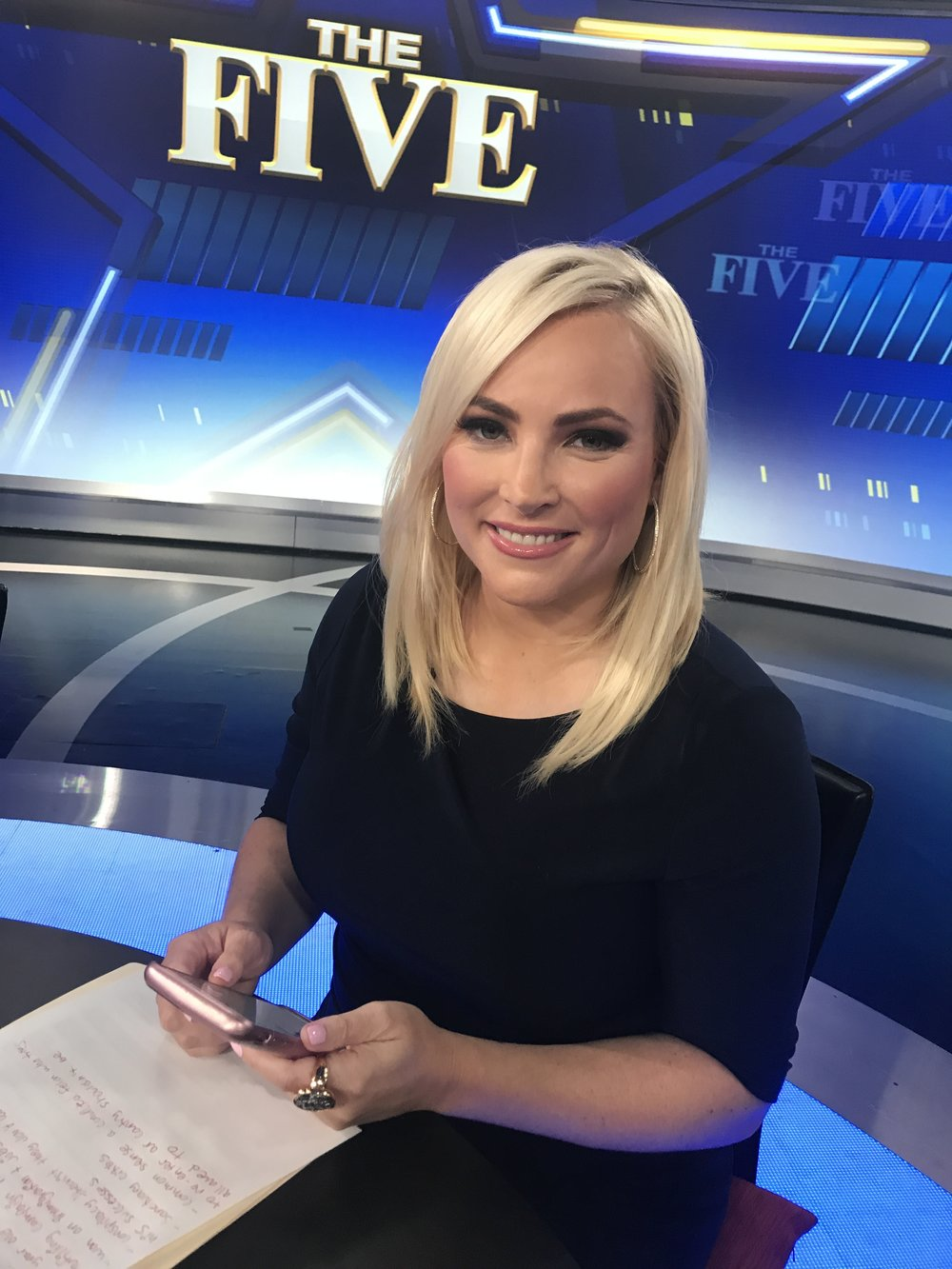 "Meghan McCain- ""The Five""  (Makeup)"