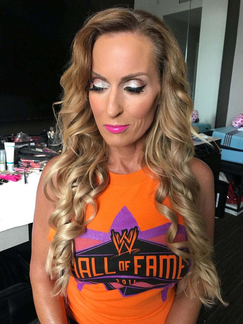 Dana Warrior WWE  (Hair and Makeup)