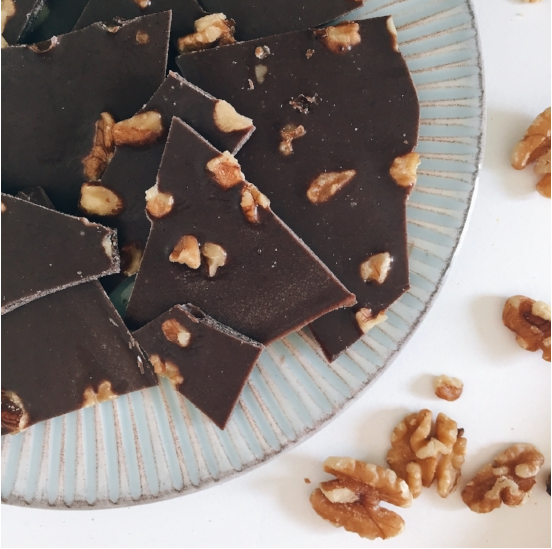 Salted Superfood Chocolate Bark