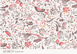 Eat Pretty Wallpaper 1
