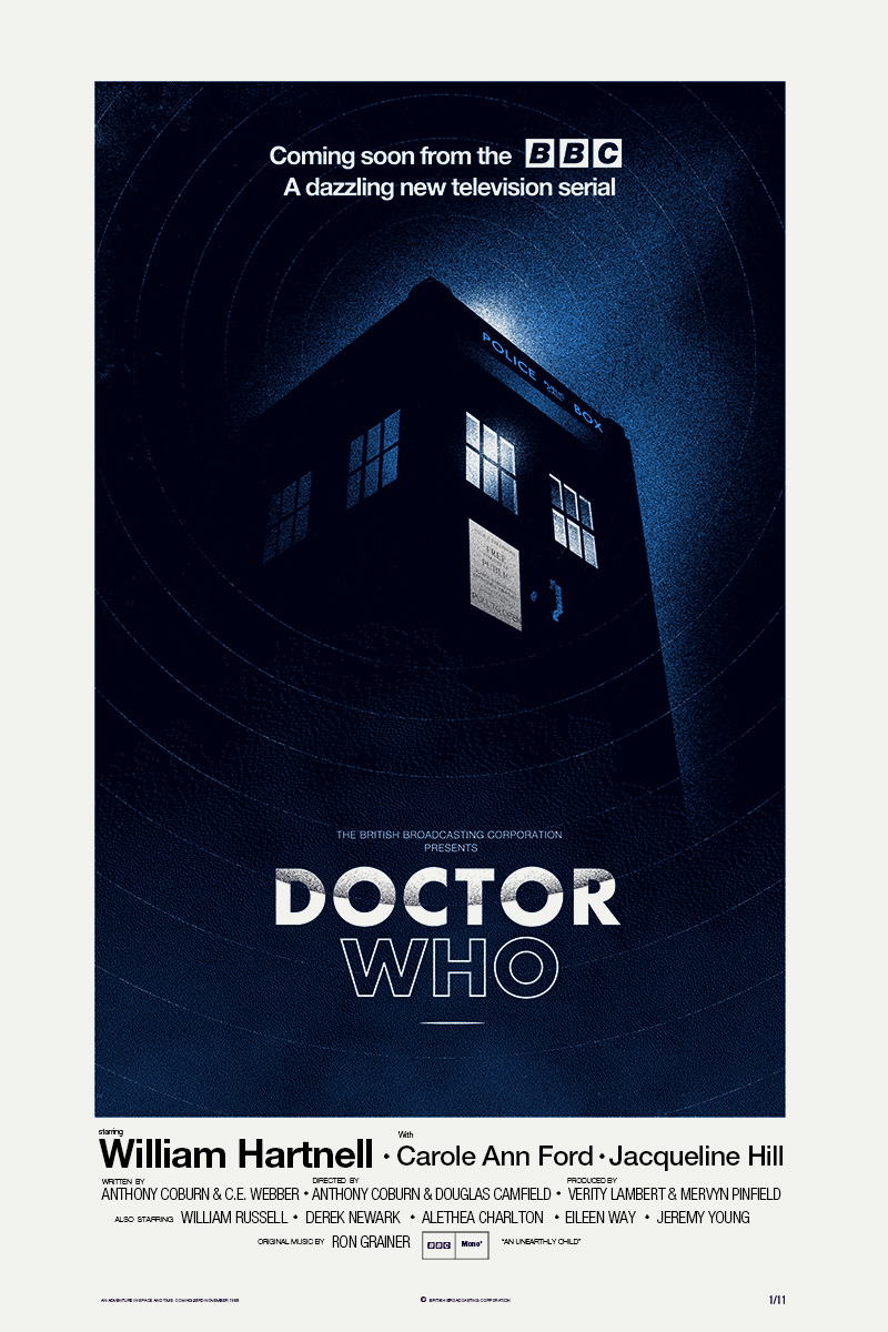 Poster design near me - Doctor Who