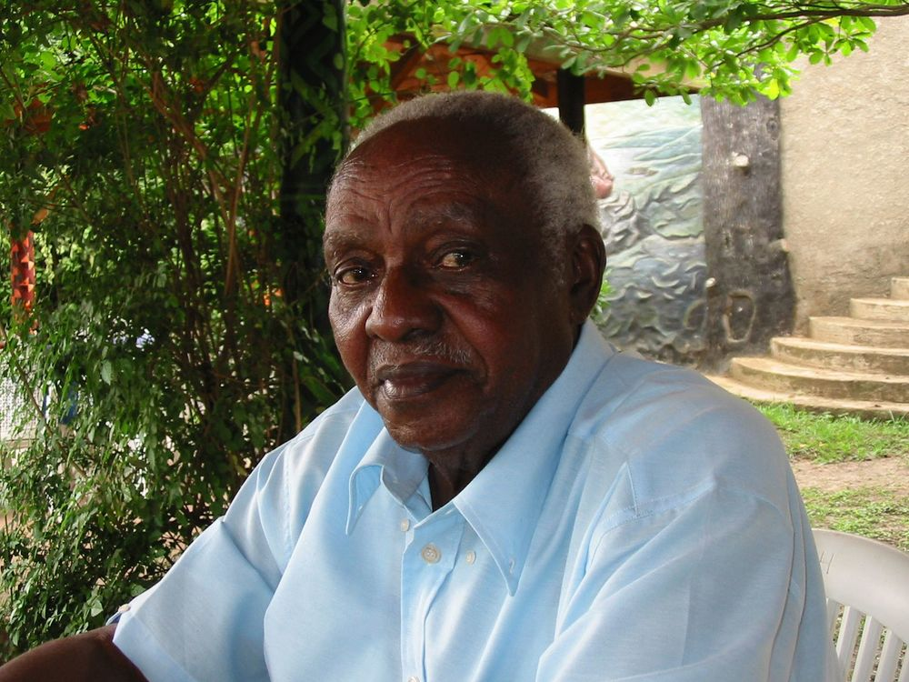 James Kahigiriza, Eliphaz Laki's closest friend in politics (Andrew Rice)