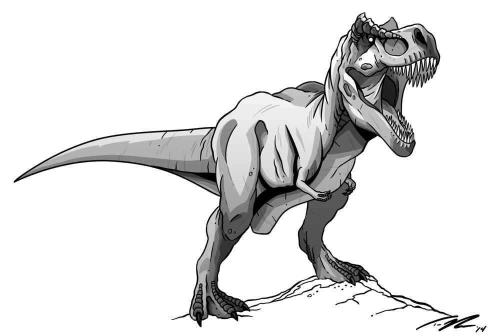 Classic style T.rex.